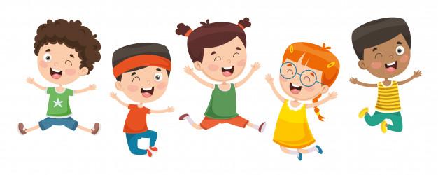 Illustration vectorielle enfants qui jouent 29937 2001